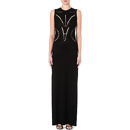 ROBERTO CAVALLI Tattoo gown (Black