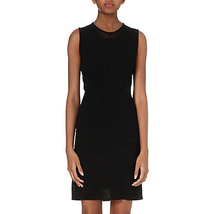 ROBERTO CAVALLI Knitted lace dress (Black