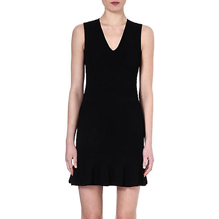 ROBERTO CAVALLI Textured dress (Black
