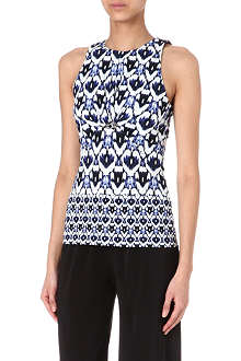 ROBERTO CAVALLI Tribal-print top