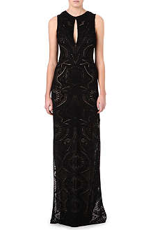 ROBERTO CAVALLI Knitted silk gown