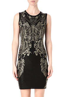 ROBERTO CAVALLI Jacquard knitted dress