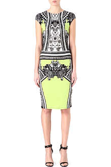 ROBERTO CAVALLI Print stretch-jersey dress