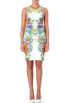 ROBERTO CAVALLI Stretch printed dress