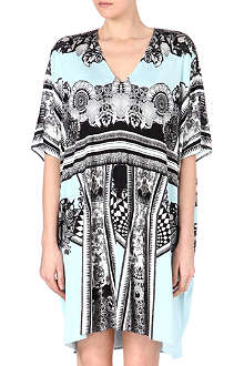 ROBERTO CAVALLI Printed kaftan dress