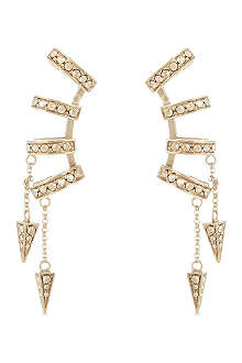 ROBERTO CAVALLI Four ring earrings