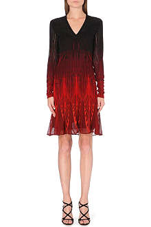 ROBERTO CAVALLI Ombré knitted dress