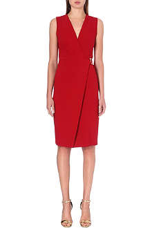 ROBERTO CAVALLI Sleeveless stretch-crepe dress