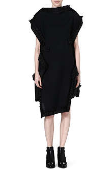 COMME DES GARCONS Ruffled-edge dress