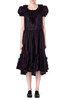COMME DES GARCONS Flared ruffle dress