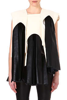 COMME DES GARCONS Contrast panel dress