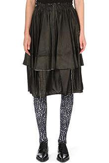 COMME DES GARCONS Bubble knit cotton skirt