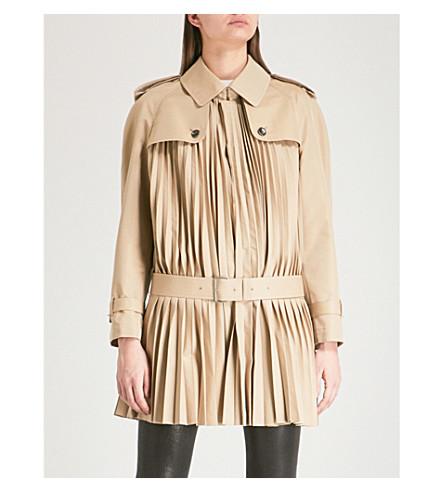 JUNYA WATANABE Junya Watanabe x Comme des Garçons cotton-blend trench coat (Beige