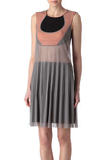 JUNYA WATANABE Layered mesh dress