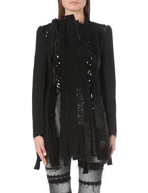 JUNYA WATANABE Patchwork wool-blend jacket