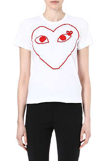 PLAY Heart-print t-shirt