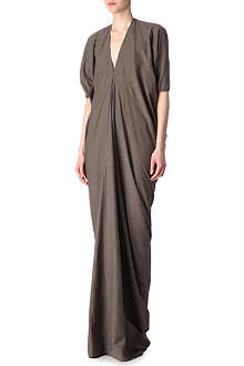 RICK OWENS Long cocoon dress