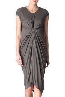 RICK OWENS Ruched dress