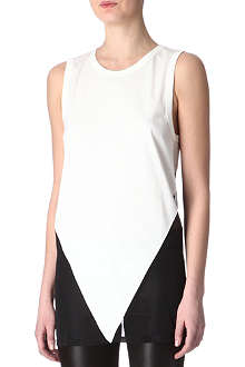 GARETH PUGH Sheer-back top