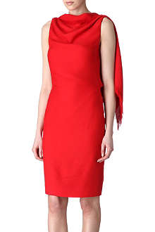 GARETH PUGH Drape shoulder dress