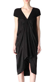 RICK OWENS Satin-twill dress
