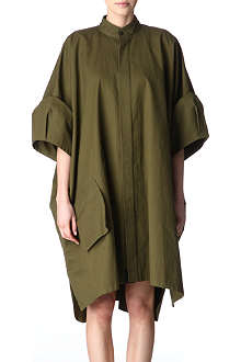 YOHJI YAMAMOTO Oversized cotton shirt dress
