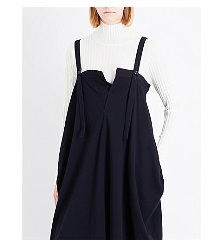 YS Turtleneck wool jumper (Off+white