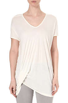 RICK OWENS Draped t-shirt
