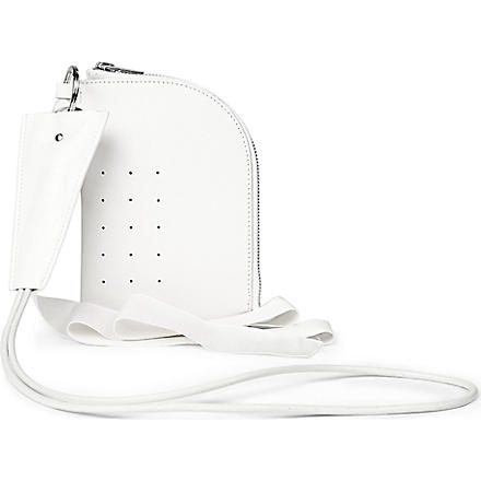 RICK OWENS Neck wallet (White