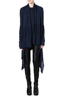 RICK OWENS Draped cardigan