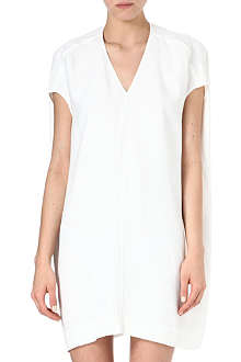 RICK OWENS V-neck tunic dress