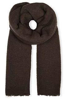 RICK OWENS Mega Fluffy scarf