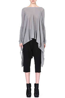 RICK OWENS Draped knitted jumper