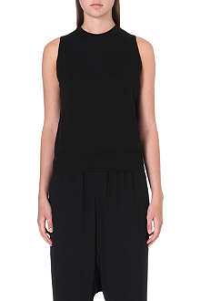 RICK OWENS Sleeveless wool top