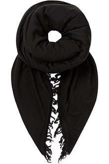 RICK OWENS Moody extra large scarf