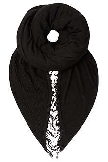 RICK OWENS Moody extra large cashmere blanket scarf