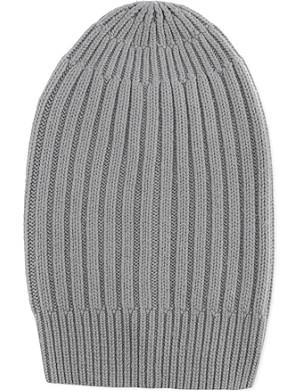 RICK OWENS Long cashmere beanie