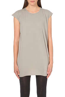 DRKSHDW Scoop neck cotton t-shirt