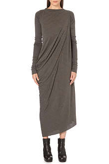 RICK OWENS Long-sleeved draped dress