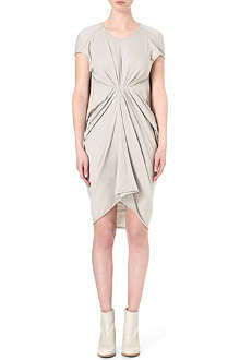 RICK OWENS Gathered jersey dress
