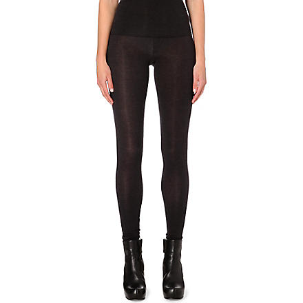 RICK OWENS Stretch-jersey leggings (Ly18