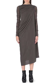 RICK OWENS Abito Anthem jersey dress
