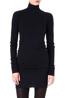 RICK OWENS LILIES Rollneck knit dress