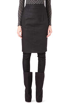 GARETH PUGH Waxed pencil skirt