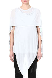 GARETH PUGH Cape-sleeved jersey top
