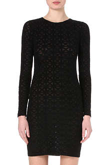 GARETH PUGH Semi-sheer printed dress