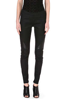 GARETH PUGH Slim-fit seamed leggings