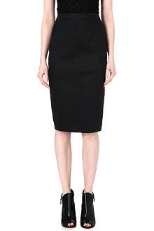 GARETH PUGH Stretch-denim pencil skirt