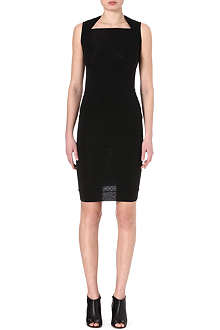 GARETH PUGH Dipped-hem jersey dress