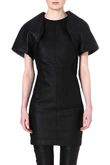 GARETH PUGH Leather bolero jacket